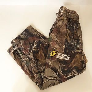 Camo Pants scent shield size small 6/7
